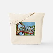 Arkansas Postcard Tote Bag