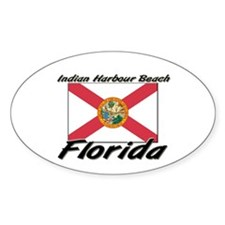 Indian Harbour Beach Florida Oval Decal