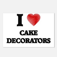 Cake Decorator Postcards (Package of 8)