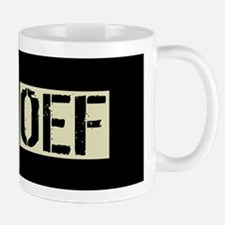 OEF: Black Military Deployment U.S. Fla Mug