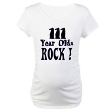 111 Year Olds Rock ! Shirt