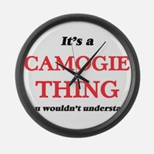 It's a Camogie thing, you wou Large Wall Clock