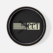 U.S. Air Force: Combat Control Team (Bl Wall Clock