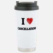 cancellation Stainless Steel Travel Mug