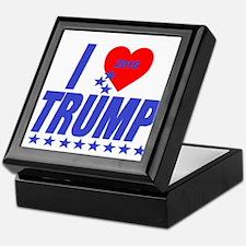 Donald Trump Keepsake Box