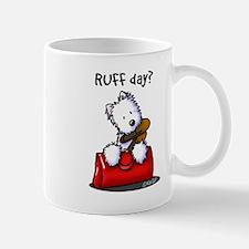 KiniArt Westie RUFF Day Mug