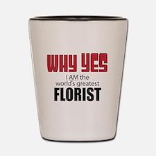 Florist Shot Glass
