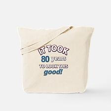 80 looked so good designs Tote Bag