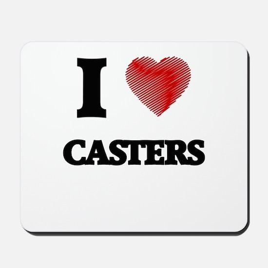 caster Mousepad