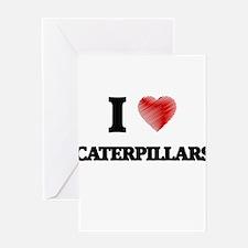 caterpillar Greeting Cards