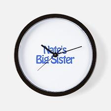 Nate's Big Sister Wall Clock
