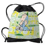 Linus peanuts Drawstring Bag
