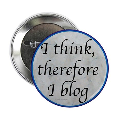 """Blogging 2.25"""" Button (10 pack)"""