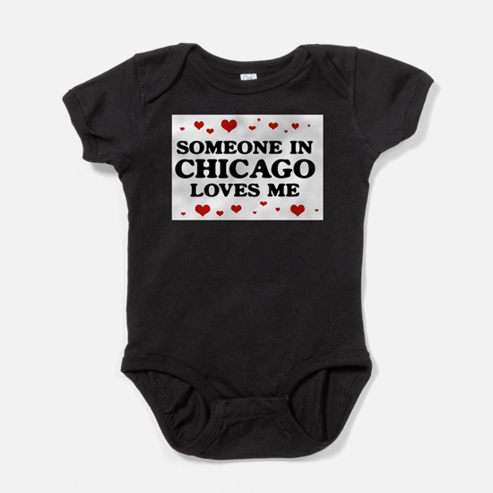 Loves Me in Chicago Infant Bodysuit Body Suit