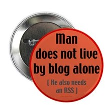 """Blogging 2.25"""" Button (100 pack)"""