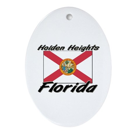 Holden Heights Florida Oval Ornament