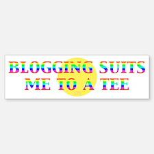 Blogger Bumper Bumper Bumper Sticker