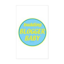 Blogging Rectangle Decal