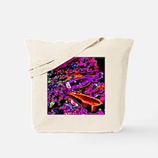 Neon Koi (Pink) Tote Bag