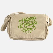 Unique St patricks day Messenger Bag