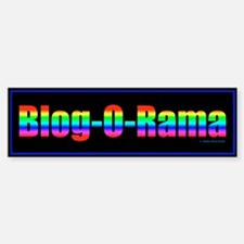 Blogger Gift Bumper Bumper Bumper Sticker