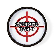 Sniper Bait Wall Clock