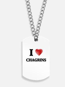 chagrin Dog Tags