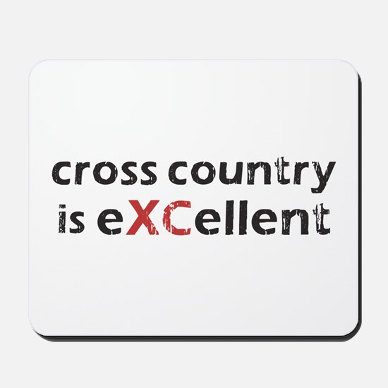 Cross Country eXCellent Mousepad