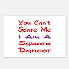 you can't scare me I am a Postcards (Package of 8)