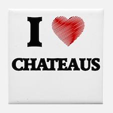 chateau Tile Coaster