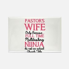Pastor's Wife for light Magnets