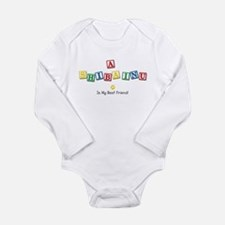 Unique Kids birthdays Long Sleeve Infant Bodysuit