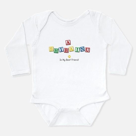 Cute Baby blocks Long Sleeve Infant Bodysuit