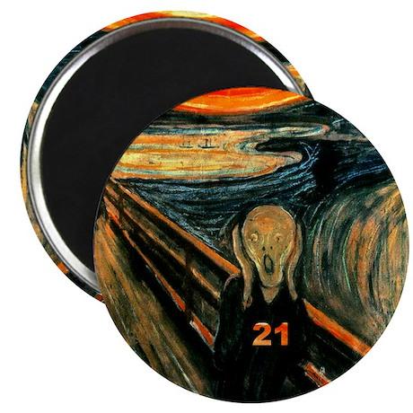 """Scream 21st 2.25"""" Magnet (10 pack)"""