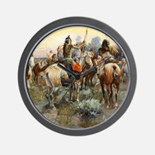 Wild West Vintage -Page10 Wall Clock