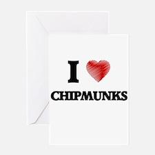chipmunk Greeting Cards