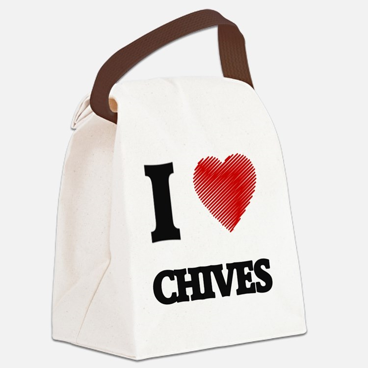 Cute The chive Canvas Lunch Bag