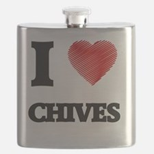 Funny Chive Flask