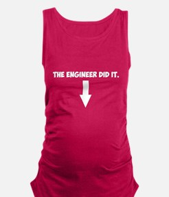 Funny Electrical engineer Maternity Tank Top
