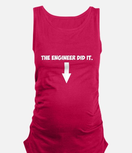 Cute Cute electrical engineer Maternity Tank Top