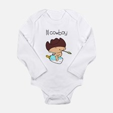 Unique Horse infant and toddler Long Sleeve Infant Bodysuit