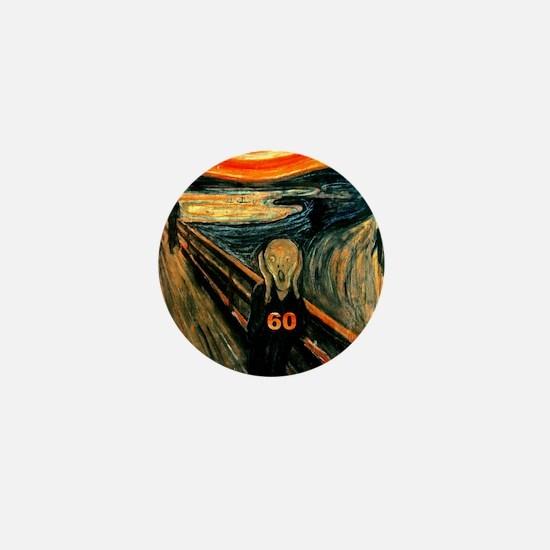 Scream 60th Mini Button