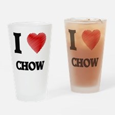 chow Drinking Glass