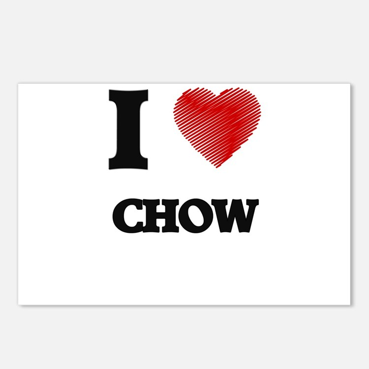 chow Postcards (Package of 8)