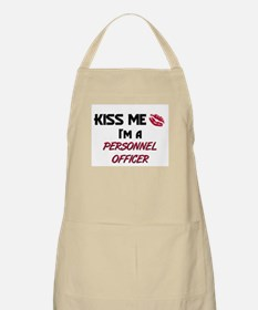 Kiss Me I'm a PERSONNEL OFFICER BBQ Apron