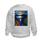 Gogh's Scream Kids Sweatshirt