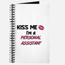 Kiss Me I'm a PERSONAL ASSISTANT Journal