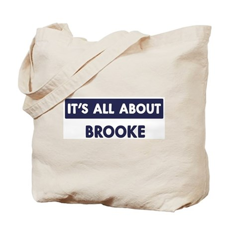 All about BROOKE Tote Bag