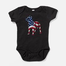 Unique Pit bulls Baby Bodysuit