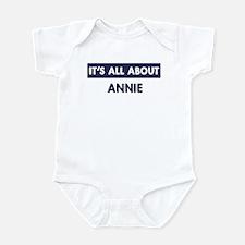 All about ANNIE Onesie